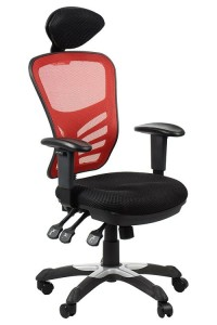 Office armchair HG-0001H/RED swivel chair