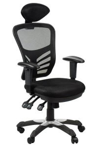 Office armchair HG-0001H/BLACK swivel chair