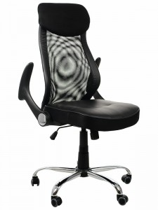 Office armchair ZH-376/BLACK - swivel chair
