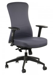 Office armchair  KENTON / CHARCOAL - swivel chair