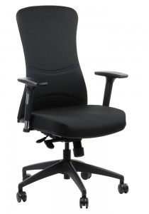 Office armchair  KENTON / BLACK - swivel chair
