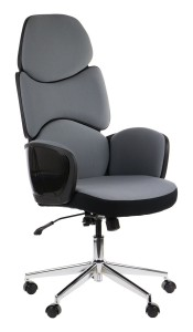 Office armchair BEDFORD - upholstery 206/54 - swivel chair