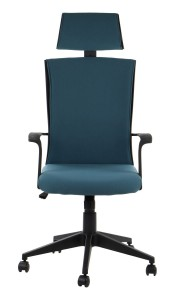 Office armchair CLAYTON - upholstery 56 - swivel chair, black frame