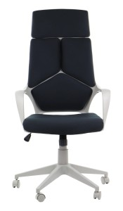 Office armchair FULTON - upholstery 54 - swivel chair, grey frame