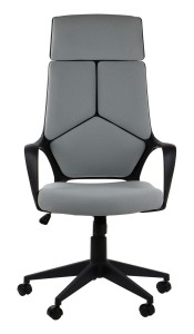 Office armchair FULTON - upholstery 53 - swivel chair, black frame