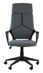 Office armchair FULTON - upholstery 206 - swivel chair, black frame
