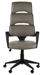 Office armchair LORETTO - upholstery 193 - swivel chair, black frame