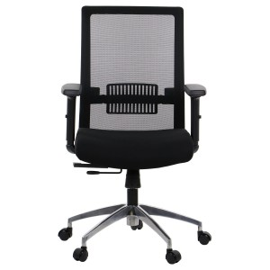 Office chair RIVERTON - mesh backrest, aluminium base