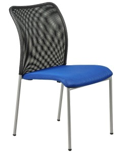 Conference chair HN-7502/BLUE-black - office chair