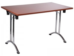 Folding steel desk and table frame SC-922 - chrome-plated