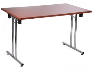 Folding steel desk and table frame SC-921 - chrome-plated