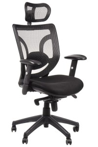 Office armchair KB-8901/BLACK - swivel chair