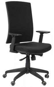 Office armchair KB-8922B/BLACK - swivel chair