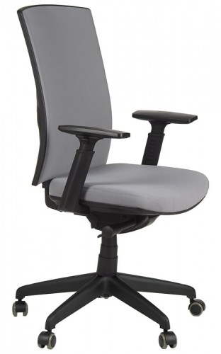 Office Armchair With Seat Slide System, KB 8922B S/GREY   Swivel Chair