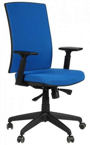 Magnificent Office Armchair Kb 8922B Blue Swivel Chair Unemploymentrelief Wooden Chair Designs For Living Room Unemploymentrelieforg
